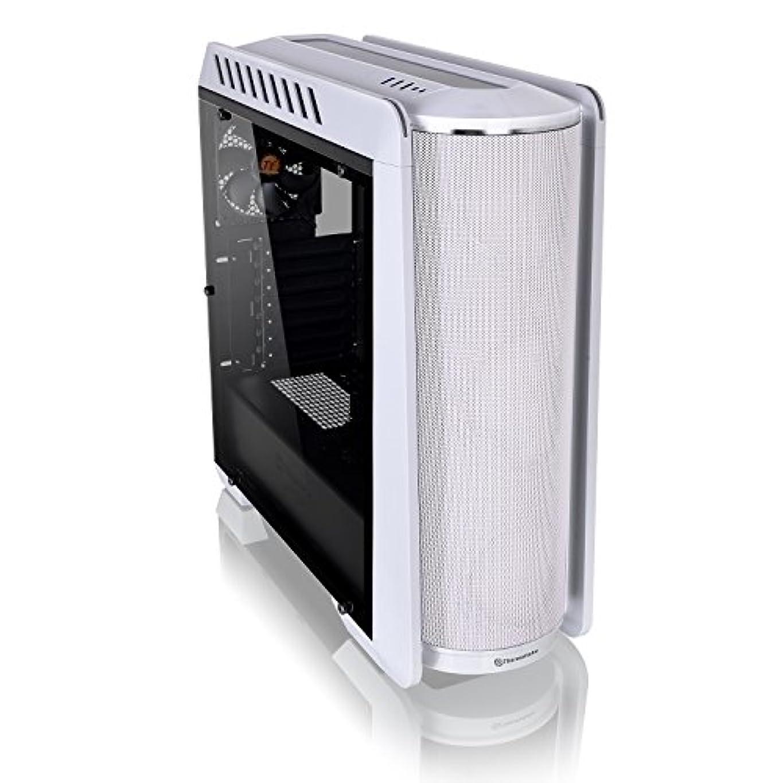 会計知人ドレインThermaltake Versa C24 RGB Gaming Chassis Modding Case - White
