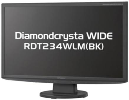 MITSUBISHI 23型LED液晶ディスプレイ RDT234WLM(BK)