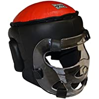 ユースsafety-shieldトレーニングHeadgear、with Removable Plexiglassマスク