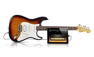 Squier by Fender スクワイア エレキギター Stratocaster USB接続 iPhone, iPad iPod Touch対応 【並行輸入品】