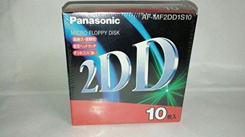 パナソニック(Panasonic) 2DD 3.5型 フロッピーディスク 10枚入り AF-MF2D...