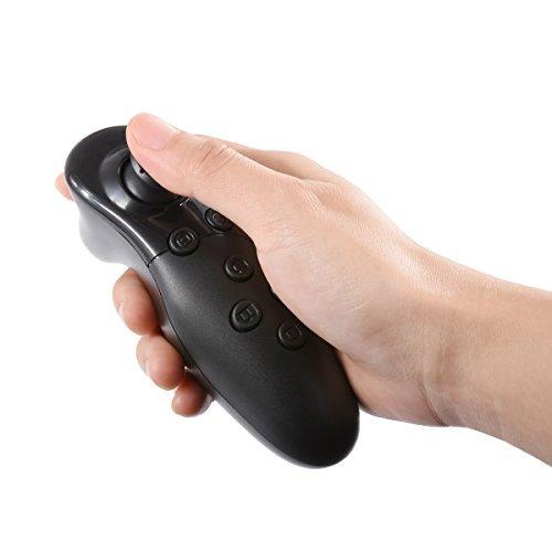 Popsky ワイヤレスリモコン VRリモコン スマホリモコン ゲームパッド/VRゴーグル/3Dメガネ/自撮り/マウス機...