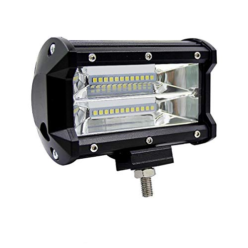 LED作業灯 デッキライト 防水 LED ワークライト 投光器 72w 12v-24v 兼用 漁船のledライト 照明 トラック 重機 Ks ガレージ 拡散タイプ ライト デッキライト 集魚灯 前照灯