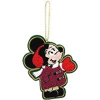 ディズニー クリスマス 2017 リゾート ( クラシカル ) ワッペン バッジ ミッキー マウス ストラップ ( ディズニーリゾート 限定 グッズ お土産 ) ( )