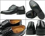 K422L ブラック メンズ ビジネスシューズ プレーントゥ 紳士靴 ケンフォード画像②