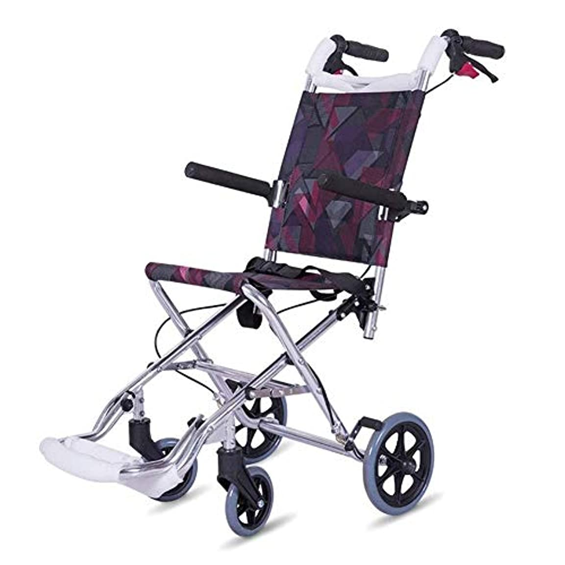 くちばし衣服アヒルアルミ合金超軽量ポータブル子供車椅子