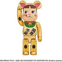 BE@RBRICK 招き猫 ペコちゃん 金メッキ 1000% 新品未開封 ベアブリック peko