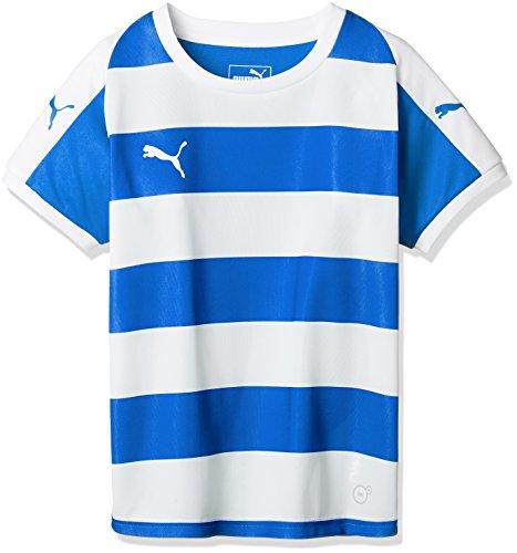 [プーマ] サッカーウェア LIGA フープ ゲームシャツ 703631 [ボーイズ] エレクトリック ブルー レモネード/ホワイト (02) 日本 120 (日本サイズ120 相当)