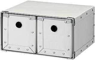 ナカバヤシ CDケース 2列 ホワイト FBD-C201W