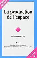 La Production De L'espace
