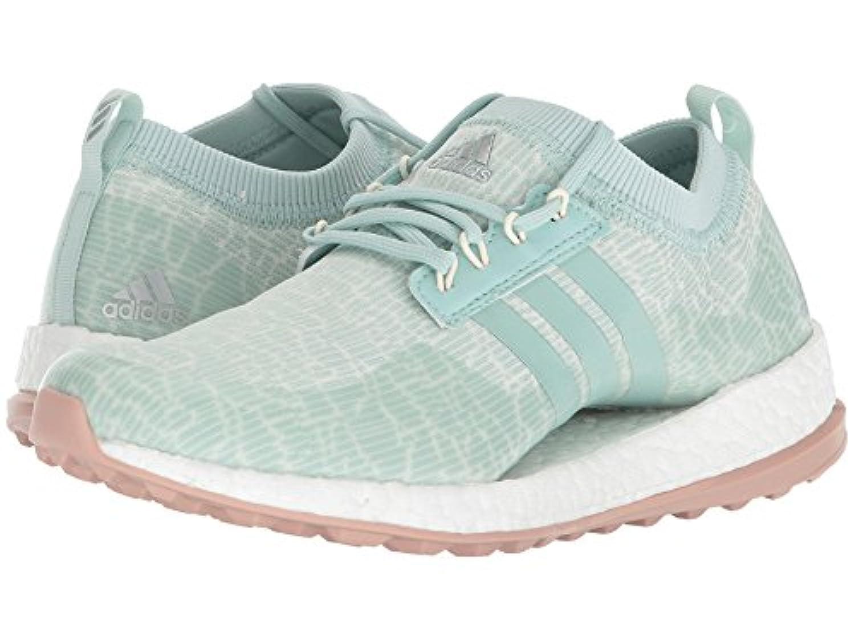 (アディダス) adidas レディースゴルフシューズ?靴 Pure Boost XG Ash Green/White Tint/Ash Pearl 6.5 (23.5cm) M