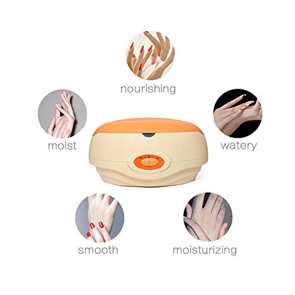 健康株式トランスミッションワックスウォーマー脱毛ワックスがけキット、専門の電気ワックスウォーマーヒーター女性のためのソフトのためにと人間の顔、顔、脚