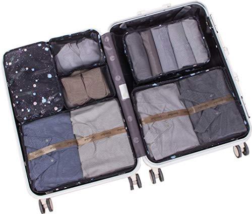 5598084f26 トラベルポーチ アレンジケース 6点セット 軽量 大容量 旅行 出張 衣類収納 スーツケース