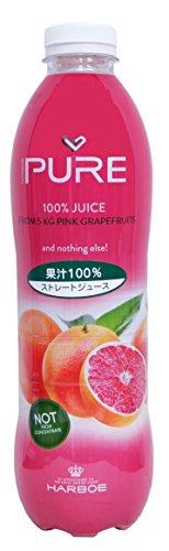 ハーボー 100%ストレート ピンクグレープフルーツジュース(1L)