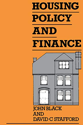 Housing Policy and Finance (English Edition)
