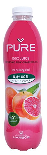 富士貿易 ハーボー『100%ストレート ピンクグレープフルーツジュース』