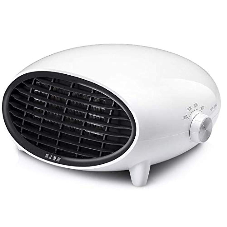 犬ポジション傑出したKYL セラミックスペースヒーター、パーソナルオフィスヒーター調整可能モード、PTCスモールスペースヒーター自動過熱保護 (Color : B)