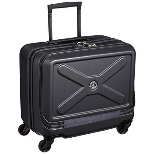 [プラスワン] PLUS ONE 軽量スーツケースアドヴァンス クアドラ 35L 3.3kg 1泊~3泊対応 横型4輪 機内持込み可能サイズTOTAL107cm 8168-42W Black Navy (ブラックネイビー)