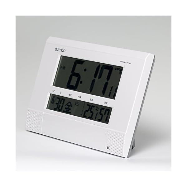 セイコー クロック 掛け時計 置き時計 兼用 ...の紹介画像4