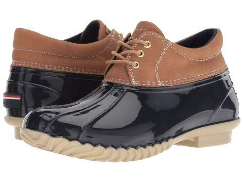 Tommy Hilfiger(トミー ヒルフィガー) レディース 女性用 シューズ 靴 ブーツ レインブーツ Hover - Navy/Tan 8 M [並行輸入品]