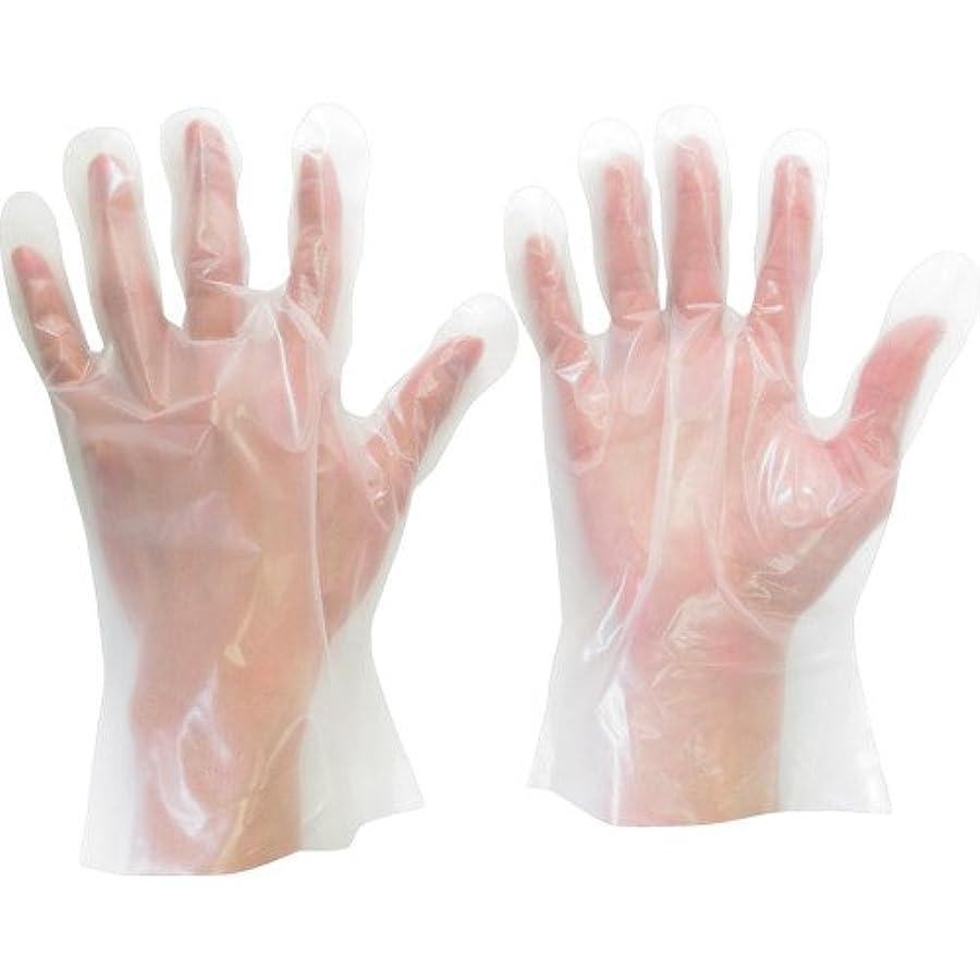 用心深いに話す穿孔するミドリ安全 ポリエチレン使い捨て手袋 外エンボス 200枚入 S VERTE575S