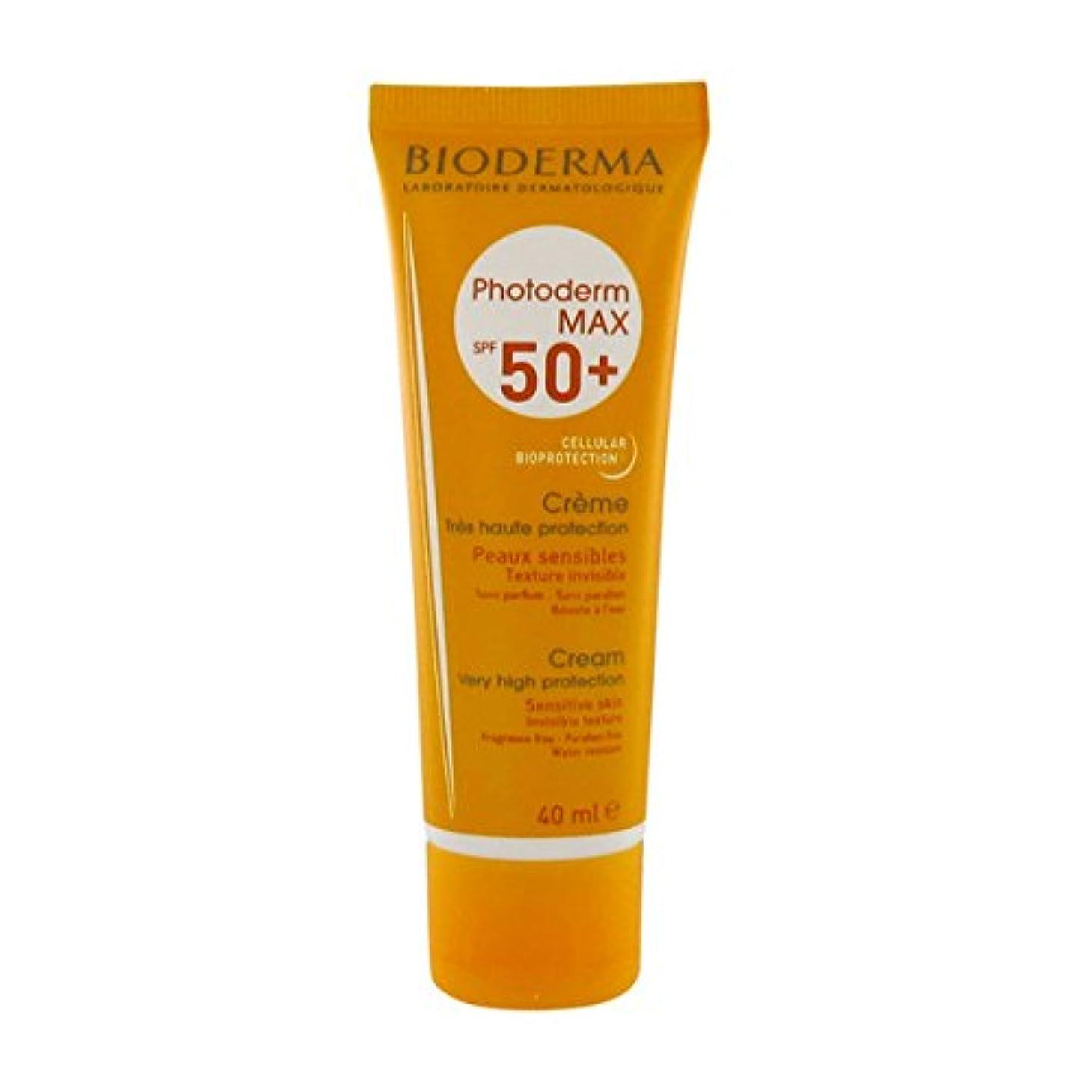 ライセンス売るに賛成Bioderma Photoderm Max Spf 50+ Cream 40ml [並行輸入品]