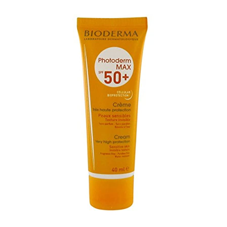 建設便宜もしBioderma Photoderm Max Spf 50+ Cream 40ml [並行輸入品]