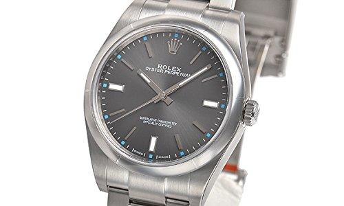 [ロレックス]ROLEX 腕時計 オイスター パーペチュアル39 ダークロジウムバー 114300 メンズ [並行輸入品]