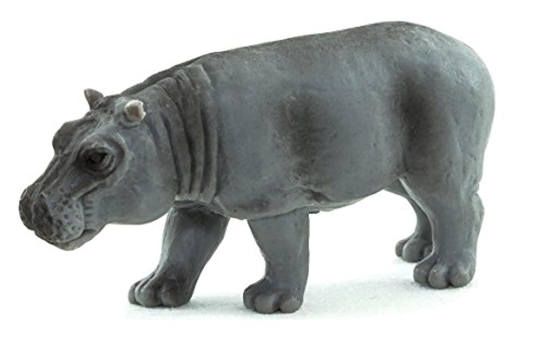 アニマルプラネット MOJO 動物 フィギュア カバ 5cm 塗装済み PVC APM387402