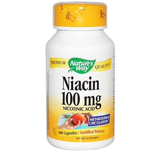 Way ネイチャーズ ウェイ Natures Way ナイアシン Niacin 100mg 100カプセル