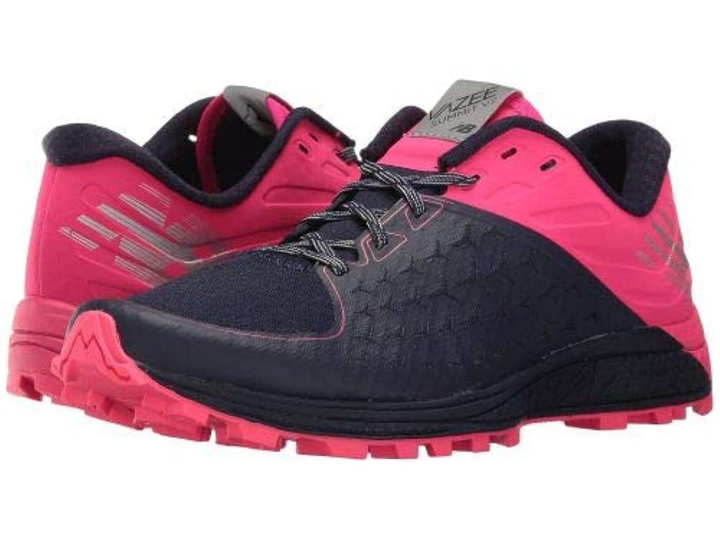 研究所同化する本を読むNew Balance(ニューバランス) レディース 女性用 シューズ 靴 スニーカー 運動靴 Vazee Summit v2 - Dark Denim/Alpha Pink/Metallic Silver [並行輸入品]