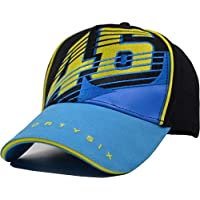 EASTVAPS Moto.GP Rossi Signature VR46 Embroidered Baseball Cap Motorcycle Racing Cap Outdoor Sports Cap