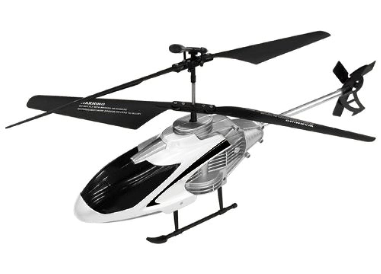 ?ラジコンヘリ BIGサイズ RCメガフライトヘリコプター ラジコン 飛行機 メタルフレーム ホワイト