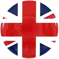 【ノーブランド品】 缶バッジ イギリス 直径38mm 裏ピン