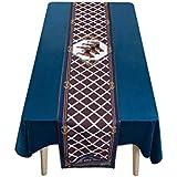 LIGONG テーブルの旗コーヒーテーブルのテーブルクロス旗ヨーロッパのファッション人格テレビキャビネットテーブルの旗ベッドの旗家の装飾テーブルの旗 (色 : コー??ヒー, サイズ さいず : 30x160cm)