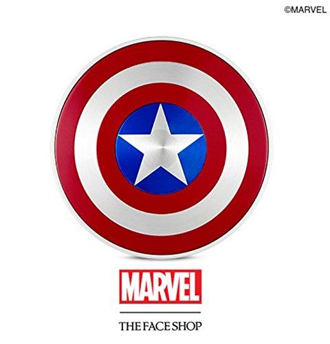 THE FACE SHOP マーベル限定版 アンチ ダークニング クッション/MARVEL Edition Anti Darkning Cushion (N201) [並行輸入品]
