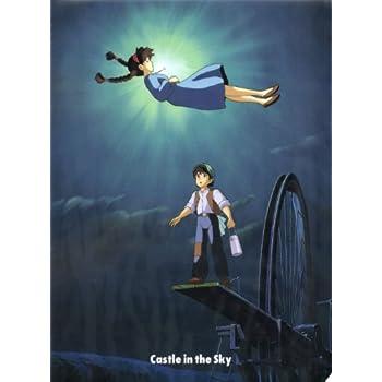 A4クリアファイル ARTシリーズ 天空の城ラピュタ 空から落ちてきた少女