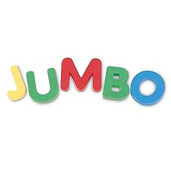 Learning Resources Jumbo Magnetic Uppercase Letters 【知育玩具 英語教材】 ジャンボマグネット アルファベット大文字 正規品