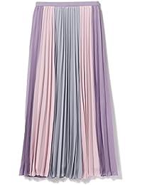 (レイビームス) Ray BEAMS/スカート 配色 プリーツ ロング スカート レディス