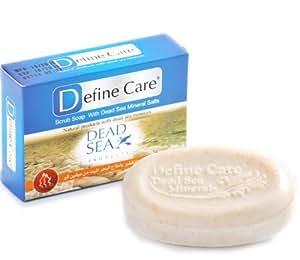 Define Care ディファインケア スクラブソープ (死海の塩配合角質除去用石けん) 100g