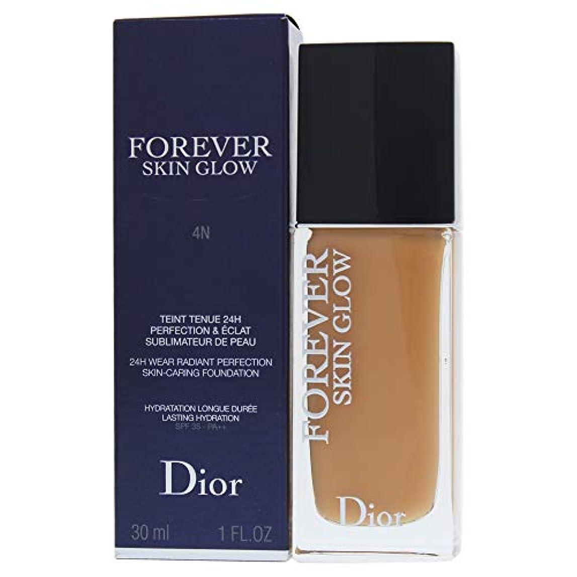 雇う外観ペットクリスチャンディオール Dior Forever Skin Glow 24H Wear High Perfection Foundation SPF 35 - # 4N (Neutral) 30ml/1oz並行輸入品