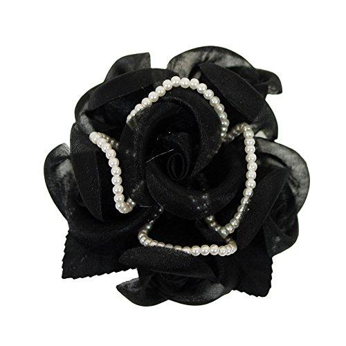 確定婚禮也是在緞面蕾絲珍珠珠黨胸花西裝搭配胸花正式手工入口上光