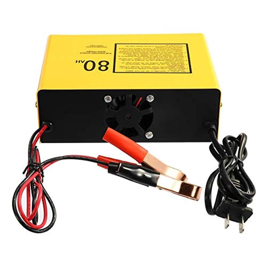 より平らな体より良い全自動で保護する急速充電器6V / 12V 80AH 140Wカーバッテリー充電器