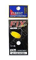 フォレスト(FOREST) スプーン フィックス マッチ 1.3g セカンドイエロー #10 ルアー