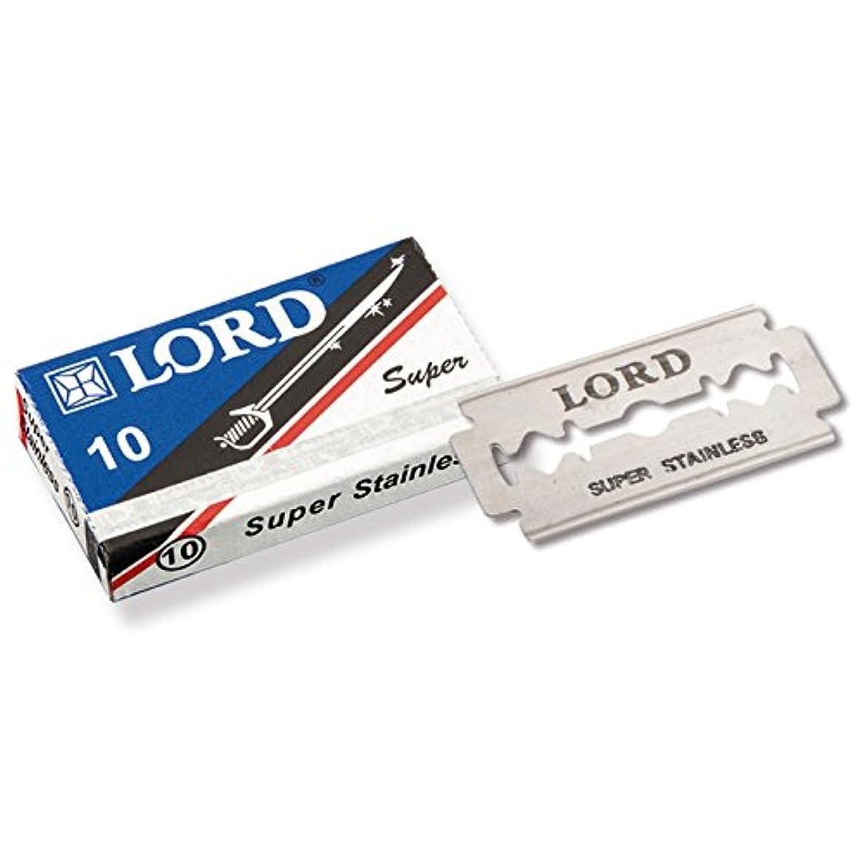 火炎統計的解釈的LORD - razorblades, Super Stainless, pack of 10