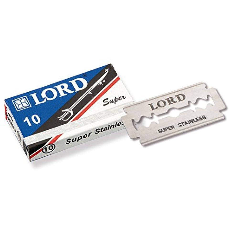 オピエート量肖像画LORD - razorblades, Super Stainless, pack of 10