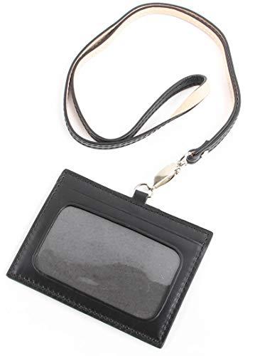【Boosters】 ブースターズ IDカードケース IDカードホルダー 革 横型 メンズ レザー ブラック
