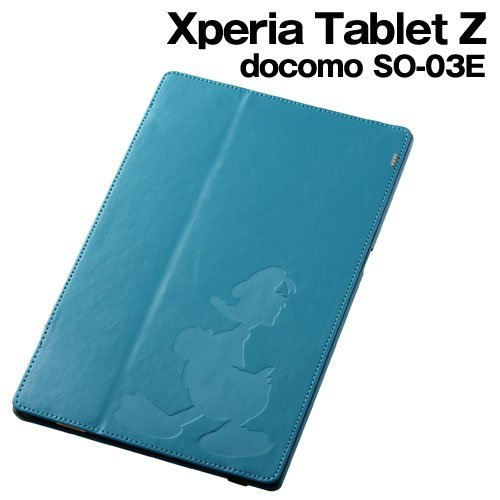 レイ・アウト Xperia Tablet Z SO-03E フラップタイプ・レザー(合皮) ドナルド RT-DSO03EA/DD