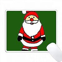 かわいい面白いサンタクロースクリスマスアート PC Mouse Pad パソコン マウスパッド