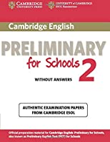 cambridge english preliminary for schools 2 without answers (PET Practice Tests)